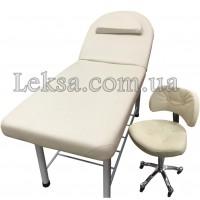 КУШЕТКА КОСМЕТОЛОГІЧНА LS-266A + стілець майстра 780