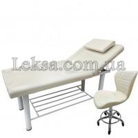 КУШЕТКА КОСМЕТОЛОГІЧНА LS-285B + 871 стілець