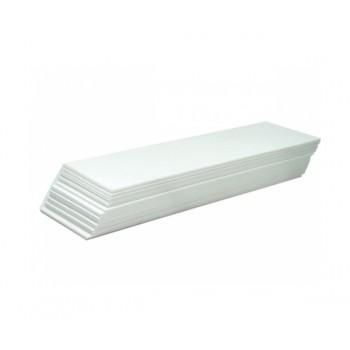 Паперові стрічки для депіляції високої щільності.  В упаковці 100 листів.