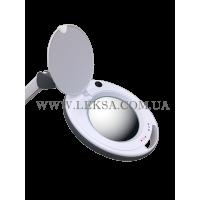 ЛАМПА-ЛУПА 6014 LED 3D З РЕГУЛЮВАННЯМ ЯСКРАВОСТІ ТЕПЛОГО І ХОЛОДНОГО СВІТЛА 1-12W