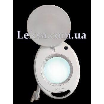 ЛАМПА-ЛУПА 6027K-H-8 60 SMD LED 1-12W 5D З РЕГУЛЮВАННЯМ ЯСКРАВОСТІ
