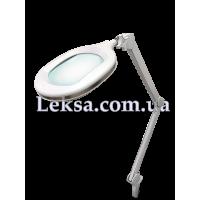 ЛАМПА-ЛУПА 6029 LED 3D З РЕГУЛЮВАННЯМ ЯСКАВОСТІ 5/10W