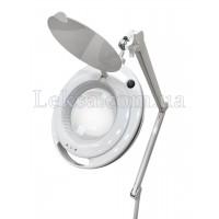 ЛАМПА-ЛУПА 6017Н LED-3D З РЕГУЛЮВАННЯМ ЯСКРАВОСТІ 1-9W